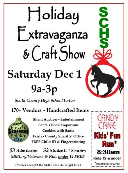 South County High School Holiday Extravaganza & Craft Show